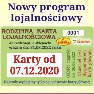 Nowy program lojalnościowy