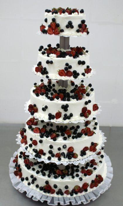 Tort weselny piętrowy 07
